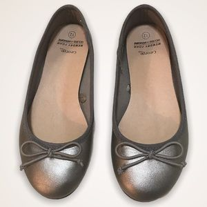 🌺GEORGE Pewter Ballet Flats